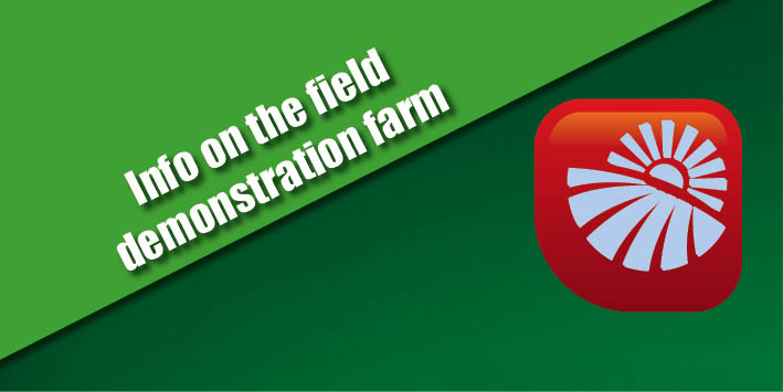Info on the field demonstration farm